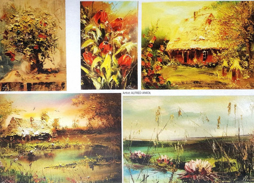 1  Sheet  of Rice Paper for Decoupage Craft Vintage  - Painting Land