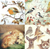 4 Vintage Table Paper Napkins for Party Lunch Decoupage Animals Mix 1/1