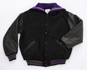 discovery canyon letter jacket front