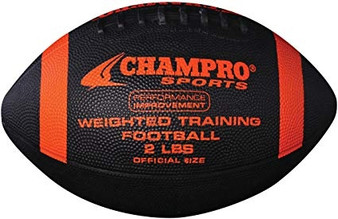 CHAMPRO 2LB WEIGHTED TRAINING FOOTBALL
