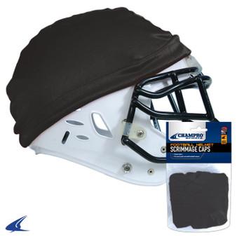 FOOTBALL HELMET SCRIMMAGE CAP BLACK