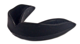 ADULT FORM-FIT MOUTHGUARD W/O STRAP BLACK