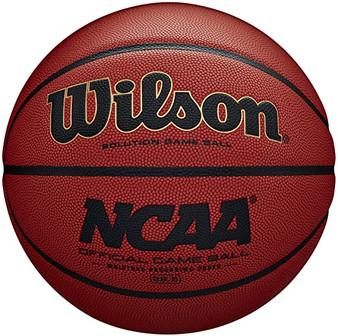 WILSON SOLUTION OFFICIAL NCAA MEN'S INDOOR BASKETBALL