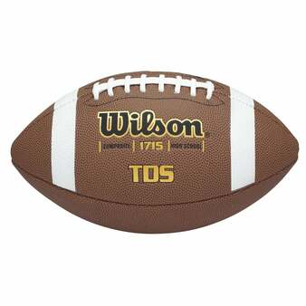 WILSON TDS COMPOSITE FOOTBALL-OFFICIAL SIZE
