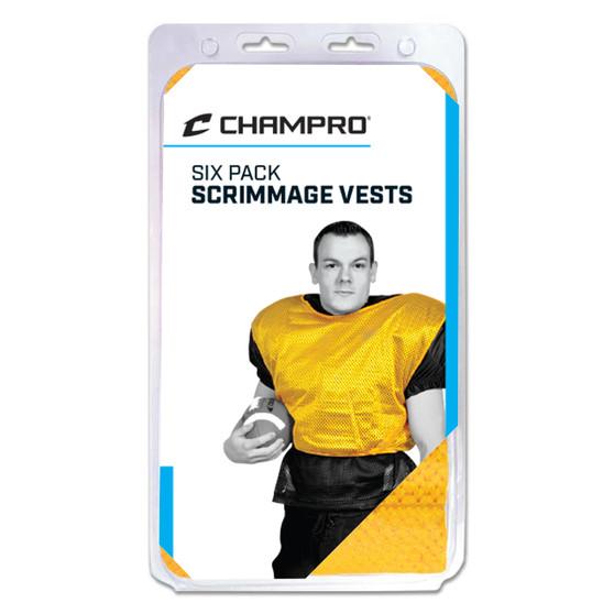 CHAMPRO SCRIMMAGE VESTS- ADULT & INTERMEDIATE