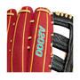 "WILSON CUSTOM A2000 2000 DAVID PERALTA 12.75"" BB GLOVE - APRIL 2021"