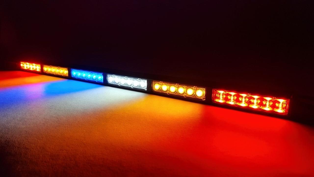 KC HiLites 28 Multi-Function Rear Facing Race LED Light Bar