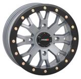 System 3 Offroad SB-4 UTV Beadlock Wheels 14x74x15615mmCement Grey 14S3-3357