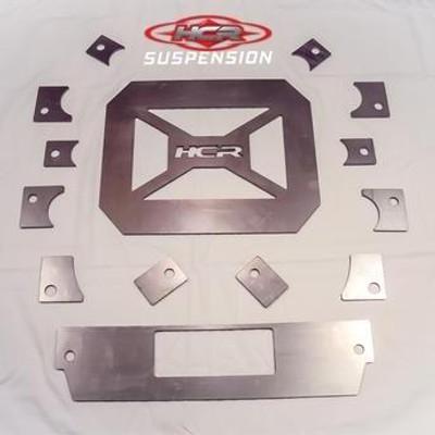 HCR Racing RZR XP 900 OEM Gusset Frame Brace Kit RZR-04420