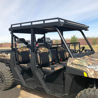 Texas Outdoors Ranch Armor Metal Top, Polaris Ranger Pro-Fit Crew PR21