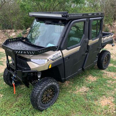 Texas Outdoors Ranch Armor Metal Top, Polaris Ranger Crew NorthStar/HVAC PRN21