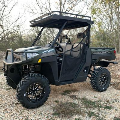 Texas Outdoors Ranch Armor Metal Top, Polaris Ranger Full-Size Single Cab PR11