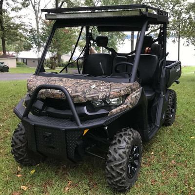 Texas Outdoors Ranch Armor Metal Roof, Can-Am Defender Single Cab CR11