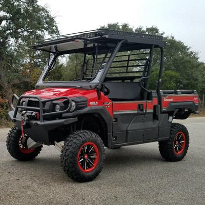 Texas Outdoors Ranch Armor Metal Roof, Kawasaki Mule Pro FX KR11