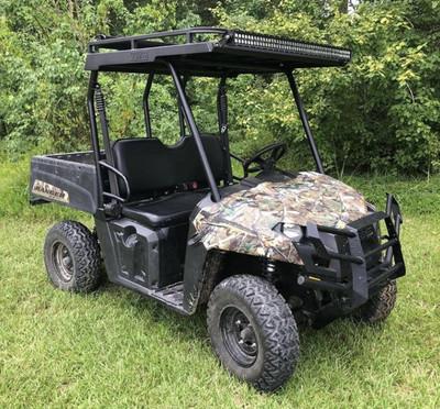 Texas Outdoors Ranch Armor Metal Roof, Polaris Ranger Mid-Size Single Cab Pro-Fit PR91