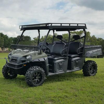 Texas Outdoors Ranch Armor Metal Top, Polaris Ranger 570/800 Crew PR121