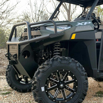 Texas Outdoors Ranch Armor Front Bumper, 2018-2021 Polaris Ranger PB11