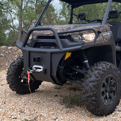 Texas Outdoors Ranch Armor Front Bumper, Can-Am Defender CB1