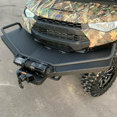 Texas Outdoors Ranch Armor Feeder Front Bumper Rack, Polaris Ranger PB13