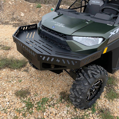 Texas Outdoors Ranch Armor Front Storage Bumper, Polaris Ranger PB14