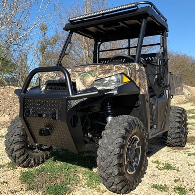 Texas Outdoors Ranch Armor Front Bumper, Polaris Ranger Mid-Size PB4