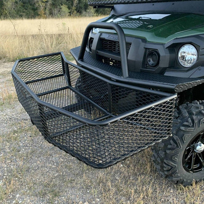 Texas Outdoors Ranch Armor Front Hitch Basket Utility Rack PA14