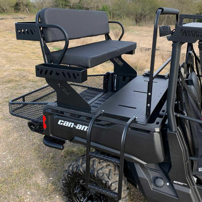 Texas Outdoors Ranch Armor Quick Connect High Seat, Can-Am Defender CH11