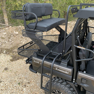 Texas Outdoors Ranch Armor High Seat, Kawasaki Mule Pro FXT KS11R