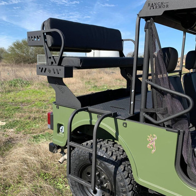 Texas Outdoors Ranch Armor High Seat, Mahindra Roxor MS11