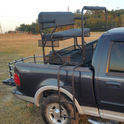Texas Outdoors Ranch Armor Pick-Up High Seat, Full Size Truck Beds TO-PU-FS
