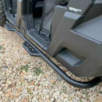 Texas Outdoors Ranch Armor Side Steps, Can-Am Defender Max CA14
