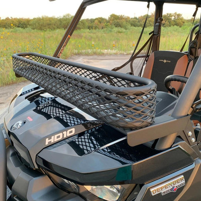 Texas Outdoors Ranch Armor Front Roll Bar Basket Rack, Can-Am Defender CA11