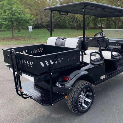 Texas Outdoors Ranch Armor Rear Storage Bed, EZ GO Golf Cart EZA13