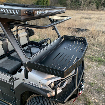 Texas Outdoors Ranch Armor Front Hood Basket, Kawasaki Mule Pro KA16