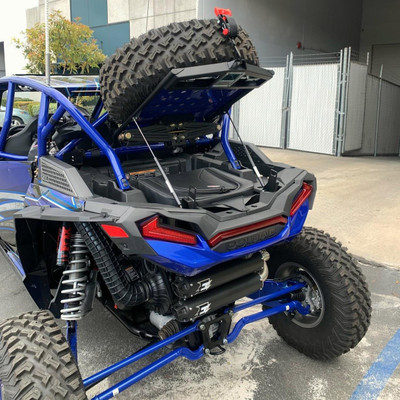 SDR Motorsports RZR XP Rear Adventure Rack 740010