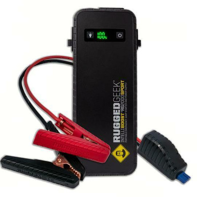 Rugged Geek Sport Battery Power Supply / Jump Starter RG2000 w/ 2000A RG20SPT1