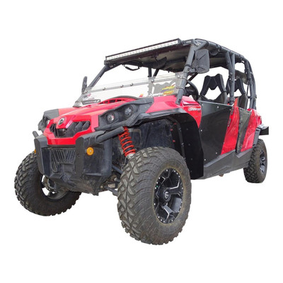MudBusters Can-Am Commander Fenders Front and Rear Standard With XT Fenders MB-95001
