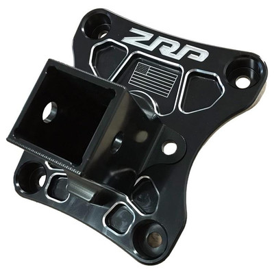 ZRP Can-Am X3 Radius Rod Plate Black Hitch Receiver 500006