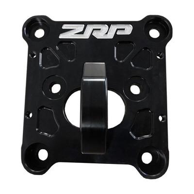 ZRP RZR Radius Rod Plate, Billet Heavy Duty Black 12mm 400039