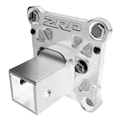 ZRP RZR Radius Rod Plate, Billet Heavy Duty Aluminum w/ Hitch 12mm 400041-A