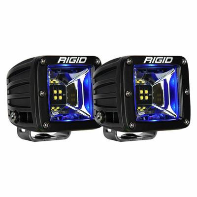 Rigid Industries Radiance Backlit LED Pods Pair Scene Blue 68201