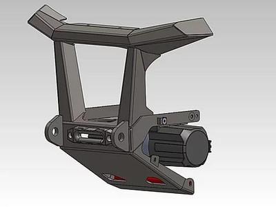 Bosman Designs Honda Talon Front Bumper BDSXS-H005