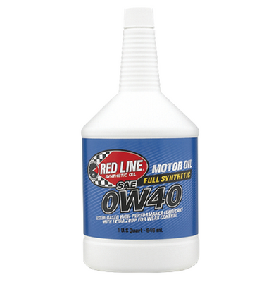 Red Line Oil 0W40 Motor Oil Quart 11104