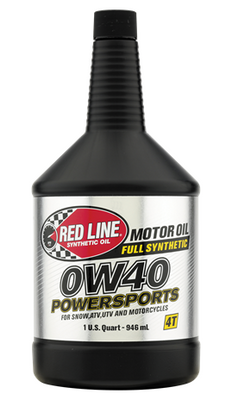 Red Line Oil Powersports 0W40 Oil Quart 42204