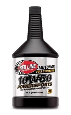 Red Line Oil Powersports 10W50 Oil Quart 42604