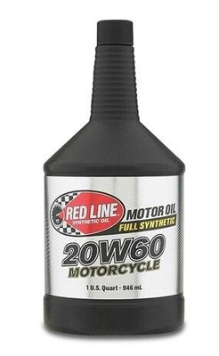 Red Line Oil Powersports 20W60 Motorcycle Oil 12604