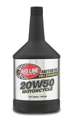 Red Line Oil Powersports 20W50 Motorcycle Oil Quart 42504