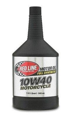 Red Line Oil Powersports 10W40 Motorcycle Oil Quart 42404