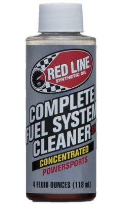 Red Line Oil Powersports Complete Fuel System Cleaner 60102