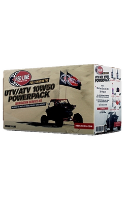 Red Line Oil Powersports UTV/ATV 10W50 POWERPACK 90220